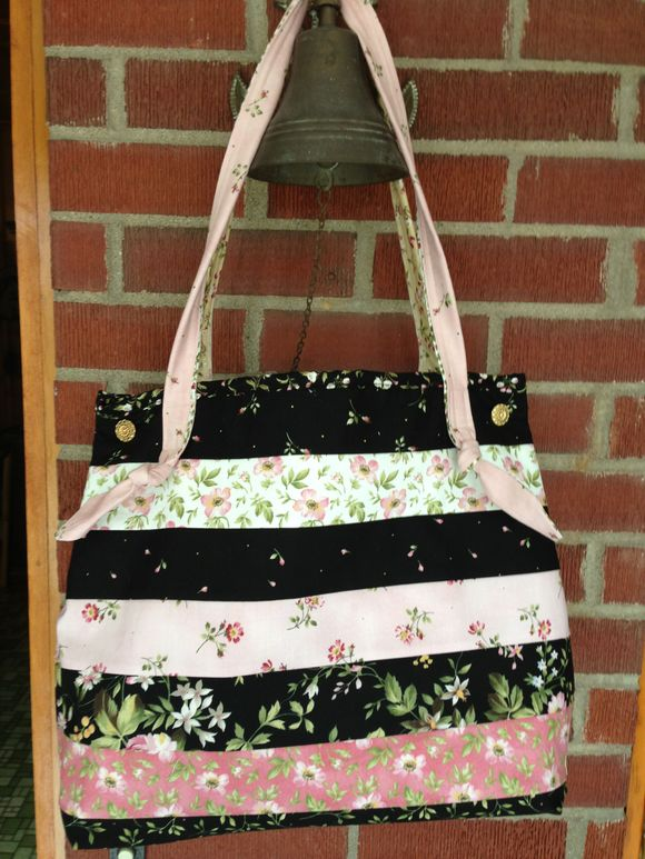 Pink and black Jelly Bag