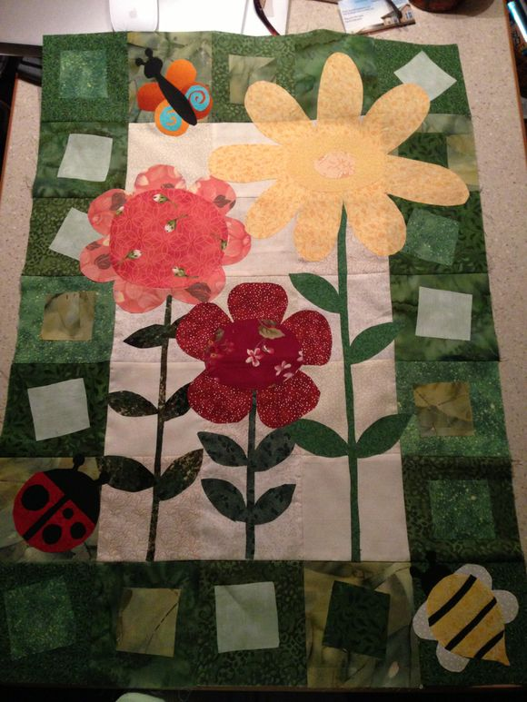 May and June Calendar Quilt tops