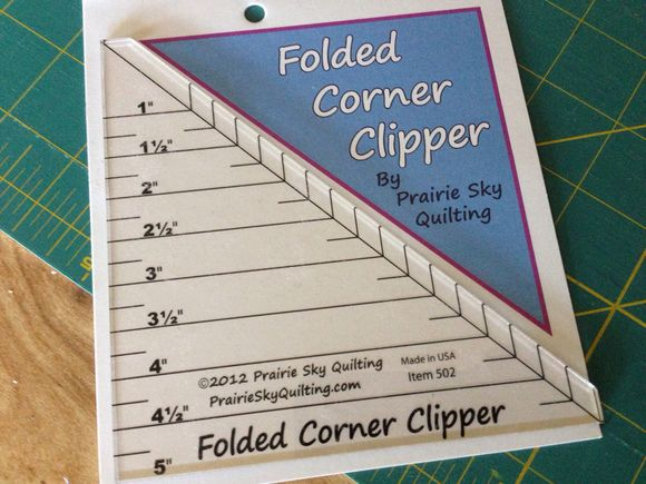 Folded corner clipper to the rescue