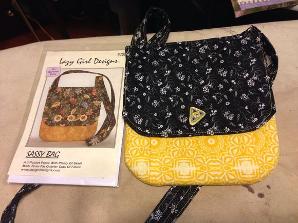 Sassy cross body or shoulder bag