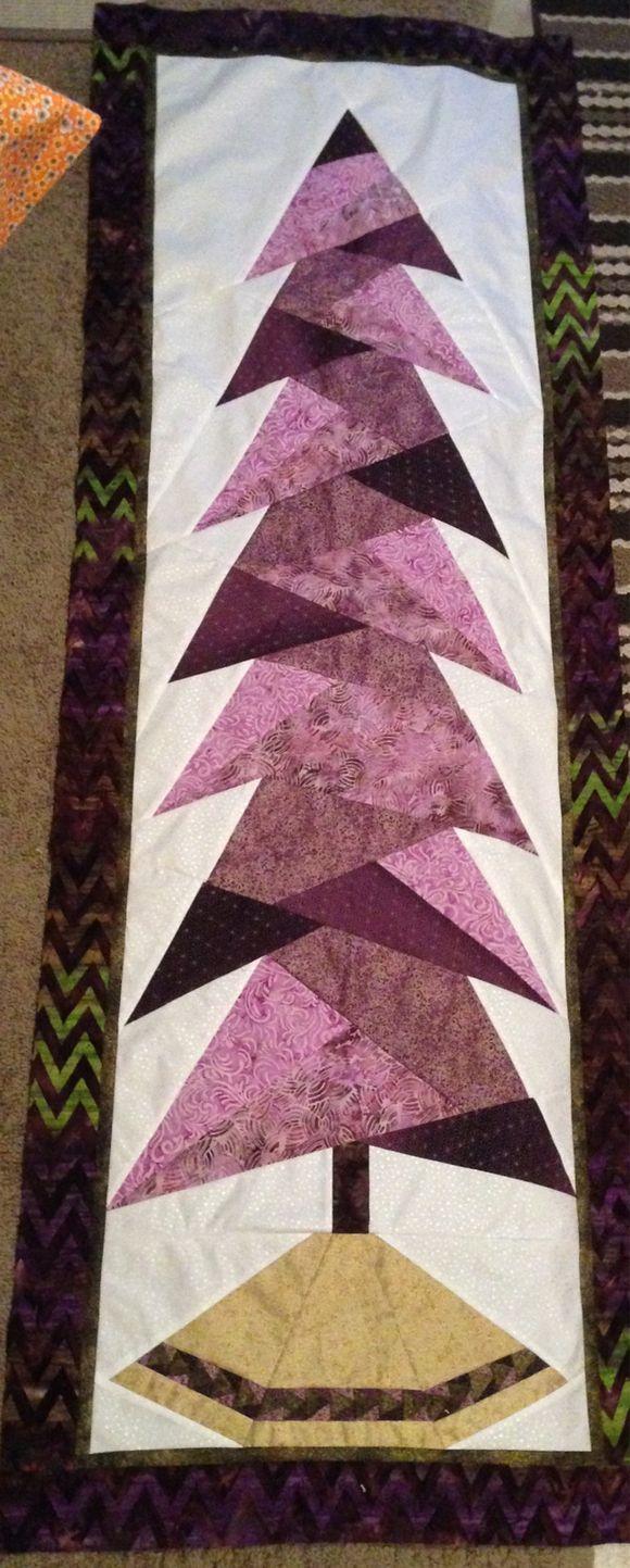 Purple tall tree