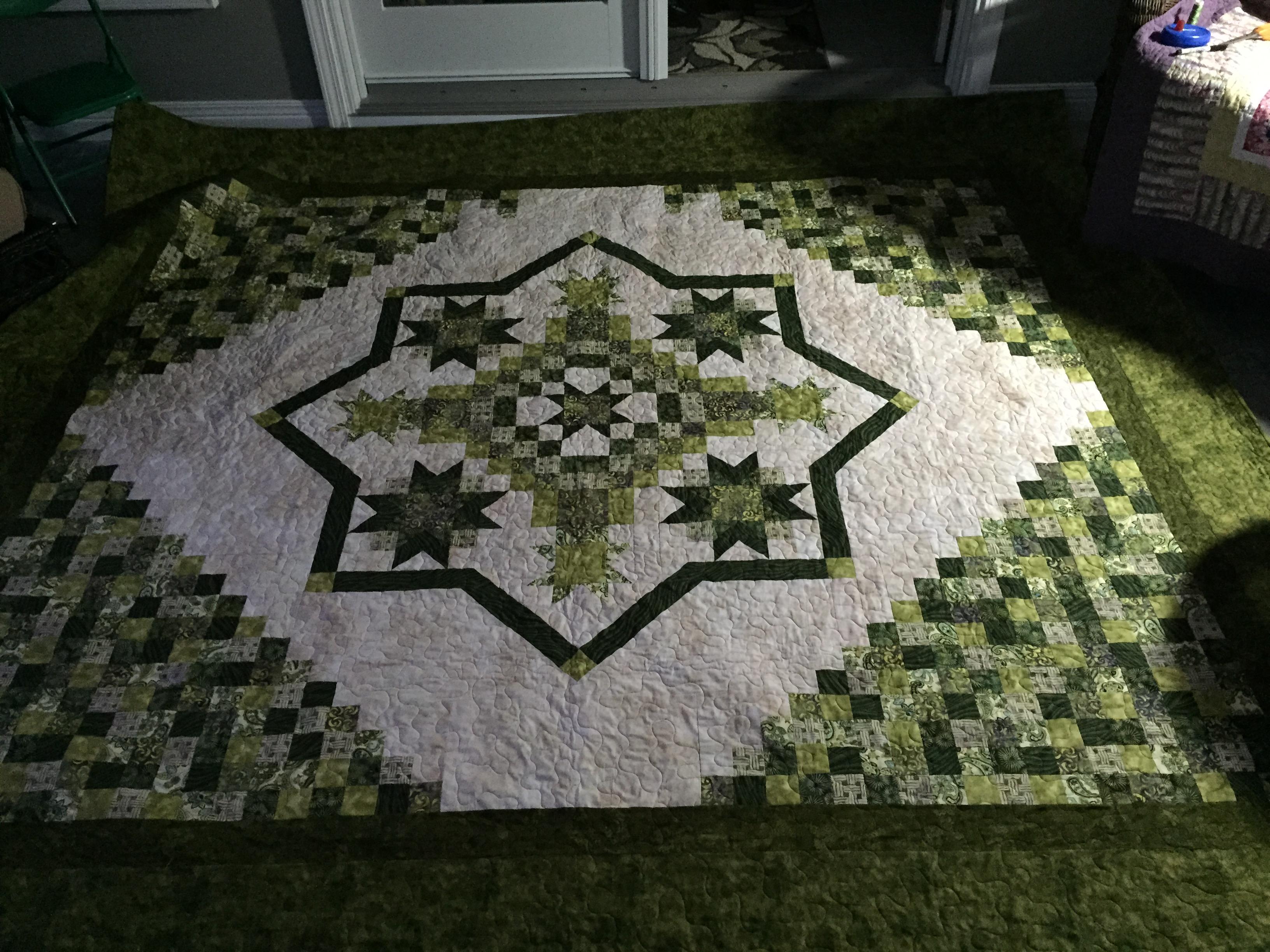 Irish Mist - Sunroom Quilts : irish mist quilt - Adamdwight.com
